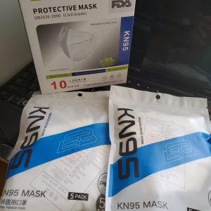 KN95 Disposable Face Masks FDA Registered